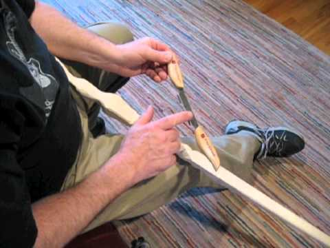 Carving A Wizard Walking Staff 2