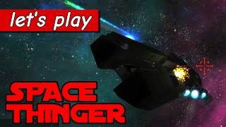 Let's play Space Thinger: Arcade dogfighting game [PC/Steam gameplay]