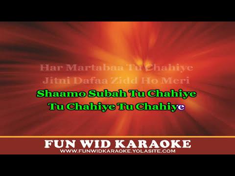 Tu Chahiye Karaoke | Atif Aslam | Bajrangi Bhaijaan | T-Series