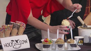 WJZ Saturday News: Holy Cow Edible Cookie Dough and Ice Cream
