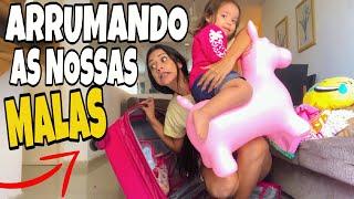 VAMOS VIAJAR! 😍 ARRUMANDO AS MALAS COM VALENTINA SOBRINHO!!!!