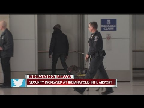 Indianapolis airport tightens security following Fort Lauderdale shootings