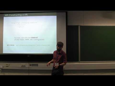 ICAPS 2016: Working with the Planning.Domains API