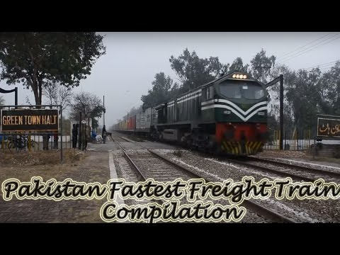 An elegant Collection of Pakistan Fastest Freight Train (15 in 1)