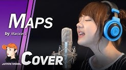 Maps - Maroon 5 cover by Jannine Weigel (พลอยชมพู)