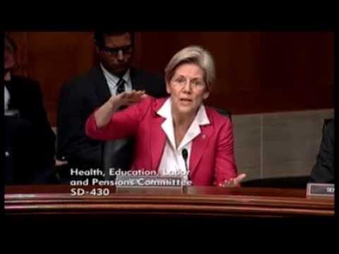 Senator Elizabeth Warren - Raising The Minimum Wage Does Not Increase Unemployment Rates