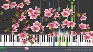 Gambar cover Sakura [桜] - Ikimonogakari [いきものがかり](Piano Synthesia + Sheet)