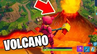 new fortnite volcano at loot lake event is now season 6 we found it - evento volcan fortnite