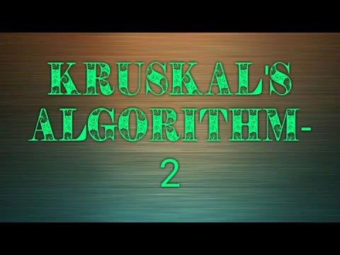 Kruskal's Algorithm||Algorithm|| Dry run|| C code Analysis..