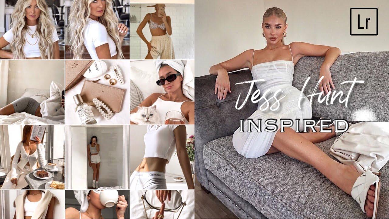 Jess hunt Inspired Lightroom Preset | Lightroom Free Presets