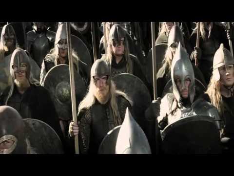 Seigneur des Anneaux : Le Retour du Roi Aragorn à la Porte Noire