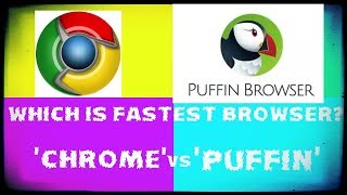Which is the fast browser puffin or chrome screenshot 3