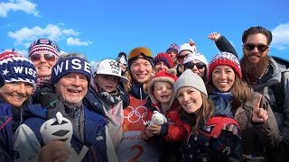 David Wise Wins Ski Halfpipe Gold! // 2018 Winter Olympics