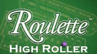 MEGA HIGH Stakes Roulette!!!! £10,000!!!!!