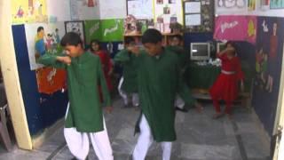 Telenor - Hum Qadam - Students performing @ Sohan School