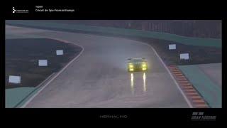Gran Turismo Sport Update october 2019 on a rainy Spa Francorchamps in the BMW M6 GT3 - DC-SimRacing