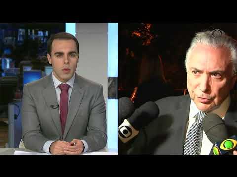 Justiça determina prisão do ex-presidente Michel Temer