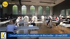 Conseil municipal d'installation de Bischwiller du 25 mai 2020