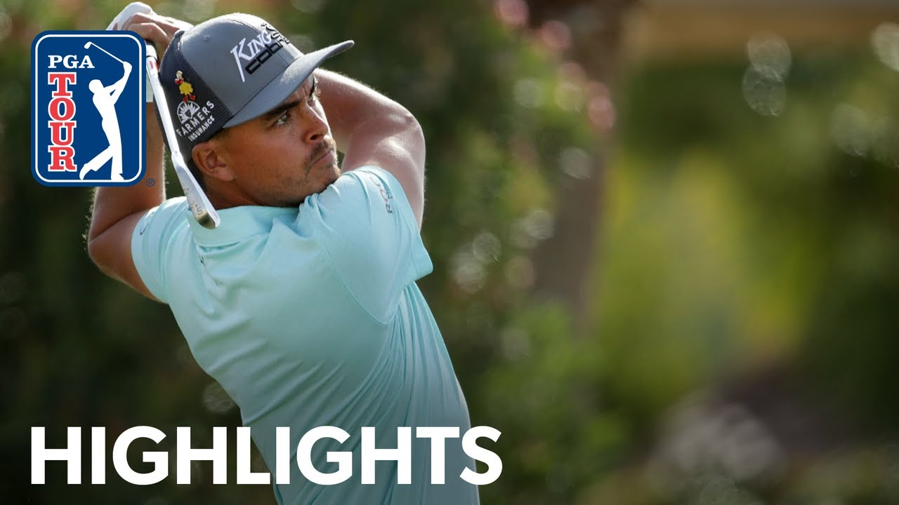Rickie Fowler shoots 8-under 64 | Round 2 | The American Express 2020