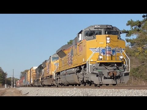 [##] Rush of Norfolk Southern Trains Part 2/2, Macon GA, 11/18/2016 ©mbmars01