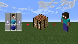 How To Craft Herobrine In Minecraft (Malay)