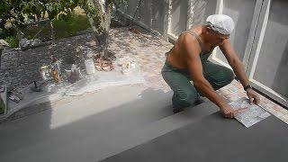 Сами облицовываем плиткой свое крыльцо ч.2(В этом видео показано как спланировать и сделать раскладку плитки на верхней площадке крыльца,с чего вообщ..., 2015-08-31T20:30:42.000Z)