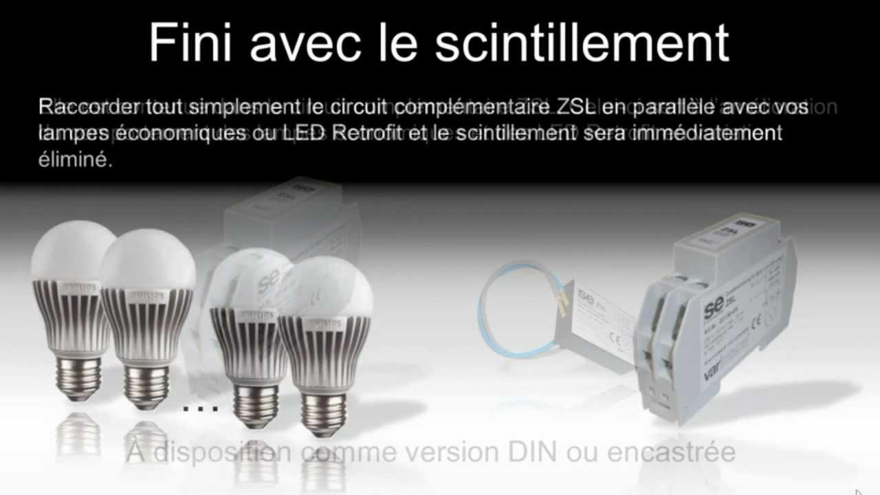 Mes Ampoules Led Scintillent fini avec le scintillement.mpg