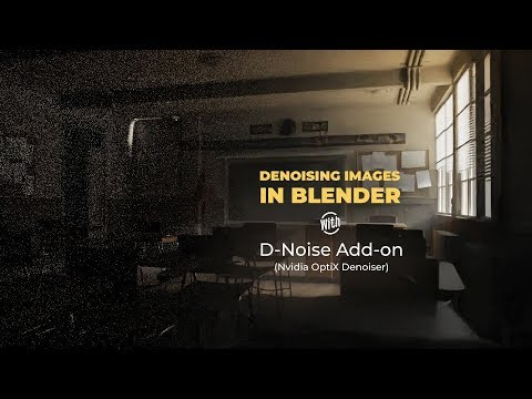 How to Denoise Images in Blender - Free D-Noise Add-on • Creative Shrimp