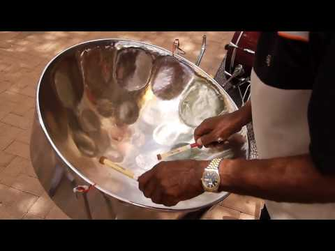 Steel pan band Curacao .mov