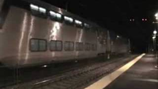 Amtrak Northeast Corridor at Night- Edgewood, MD