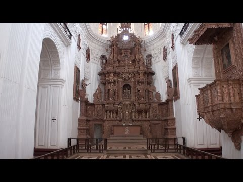 Church of St. Cajetan in Old Goa