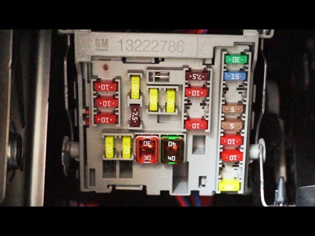 Astra Mk6 Fuse Box Wiring Diagrams