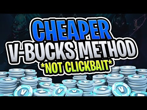 How To Get CHEAPER V-Bucks In Fortnite!! (Fortnite Battle Royale)