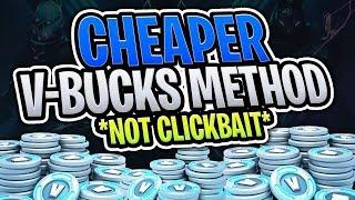 Comment obtenir CHEAPER V-Bucks à Fortnite! (Fortnite Battle Royale)