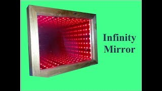How To Make An Infinity Mirror Homemade Illusion Mirror