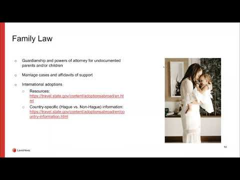 Immigration Law Webinar From LexisNexis®
