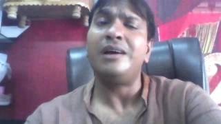 SUMIT MITTAL HISAR HARYANA INDIA  SONG TERI CHAHAT KE DEEWANE HUE HUM GWARA HAR KAMI HUME MR AASHIQ