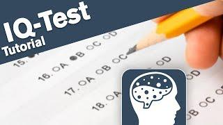 Wie funktioniert eigentlich ein IQ-Test?
