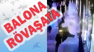 Cadde Ortasında Rövaşata Atan Adam Video