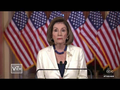 Pelosi Tells To House To Proceed With Impeachment, Part 1 | The View