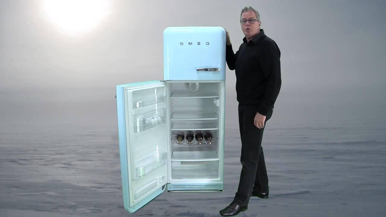 Smeg FAB30LFA Retro Fridge Freezer Review - YouTube