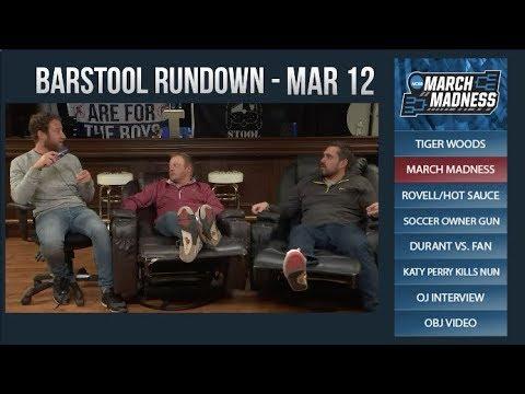 Barstool Rundown - March 12, 2018