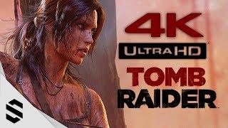 【古墓奇兵】4K電影剪輯版(中文字幕) - PC特效全開4K60FPS劇情電影 - Tomb Raider(2013) All Cutscenes Movie - 古墓丽影9