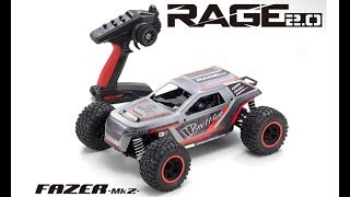 What's New: Kyosho Rage 2.0 Readyset 4WD Truck