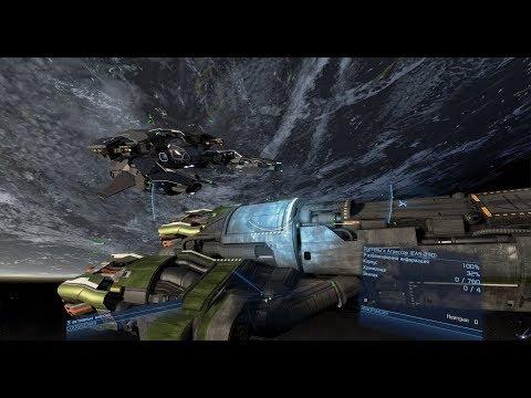 [PC] [3] X4: Foundations - Первый бой и ремонт корабля в космосе