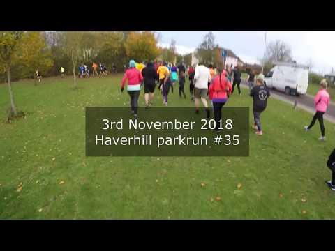 Haverhill parkrun #35 - November 3rd 2018 (fast)