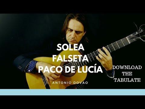 LEARN  FLAMENCO GUITAR 👨🎓 SOLEA FALSETA  👀