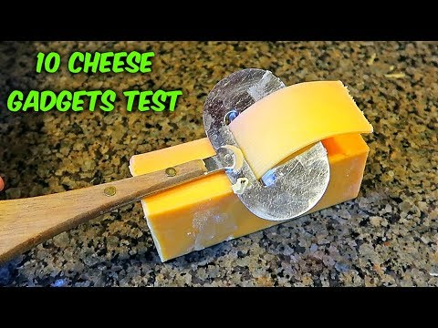 10 Strange Cheese Gadgets put to the Test  - Part 3