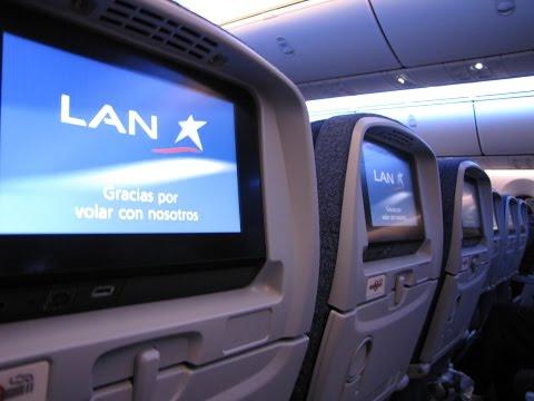 [Flight Report] LAN AIRLINES | Madrid ✈ Frankfurt | Boeing 787-8 | Economy
