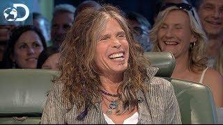 Top Gear avec Steven Tyler du groupe de rock Aerosmith